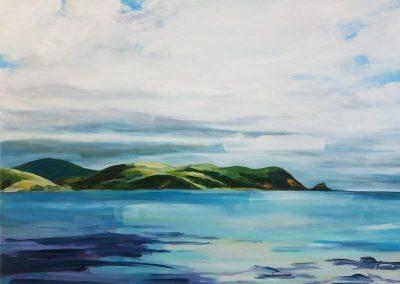 Whitireia. Oil on Canvas. SOLD